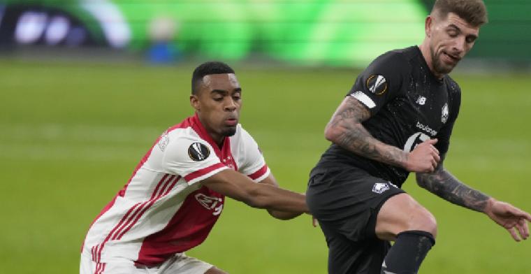 Slecht gevoel bij Lille na Ajax-uitschakeling: 'We waren superieur'