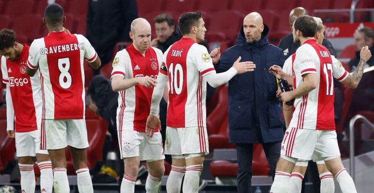 'Ten Hag houdt het bij één wijziging ten opzichte van eerste duel met Lille'