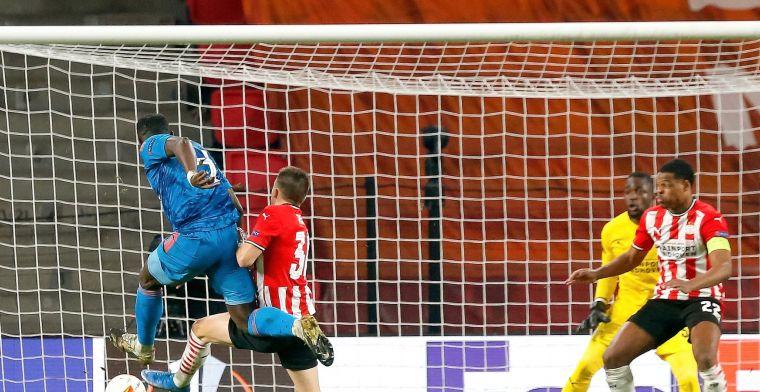 PSV staat drie kwartier lang in achtste finales, maar vliegt alsnog uit Europa