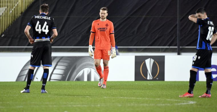 """Mignolet na uitschakeling Club Brugge: """"Hadden iets moois kunnen beteken in de EL"""""""