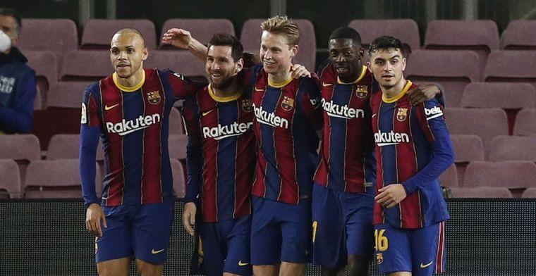 Lof voor keuze Koeman: 'Door De Jong en Pedri geen verloren jaar voor Barça'