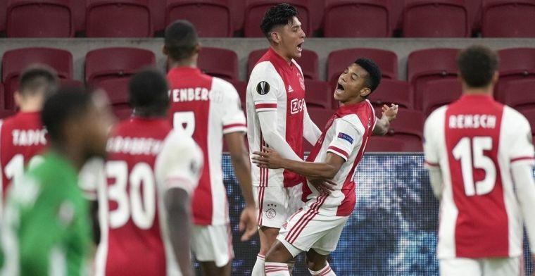 Ajax 'smeekt', maar slaagt voor Europese test: 'Hij is als een boa van het elftal'