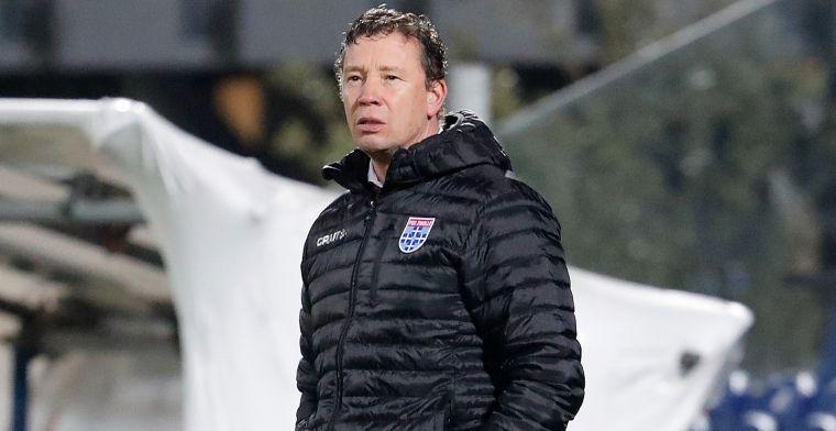 Echteld praat zijn mond voorbij na debuut én afscheid als PEC Zwolle-trainer
