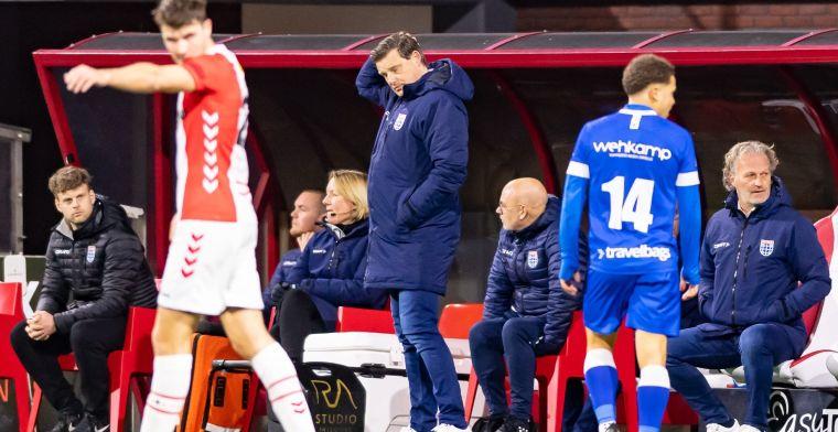PEC Zwolle zorgt voor verbazing: 'Waarom moest Stegeman per se vertrekken?'