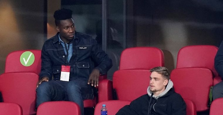 Driessen over Onana-zaak: 'Ajax wil verlengen óf verkopen, maar wacht op CAS'