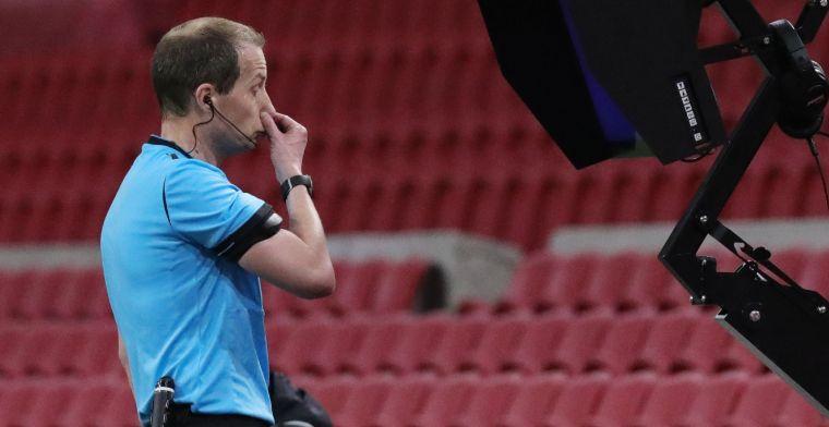 Scheidsrechter bij Ajax-Lille krijgt 2 in Frankrijk: 'Ik word er heel erg moe van'