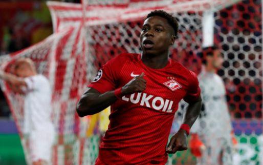 Afbeelding: Teruggekeerde Promes doet ontdekking bij Spartak Moskou: 'Is hij een beest?'