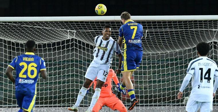 Serie A-troon komt vrij: dolend Juventus loopt ook in Verona averij op