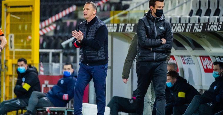 """Ademruimte voor Van den Brom na zege KRC Genk: """"Een enorme opluchting"""""""