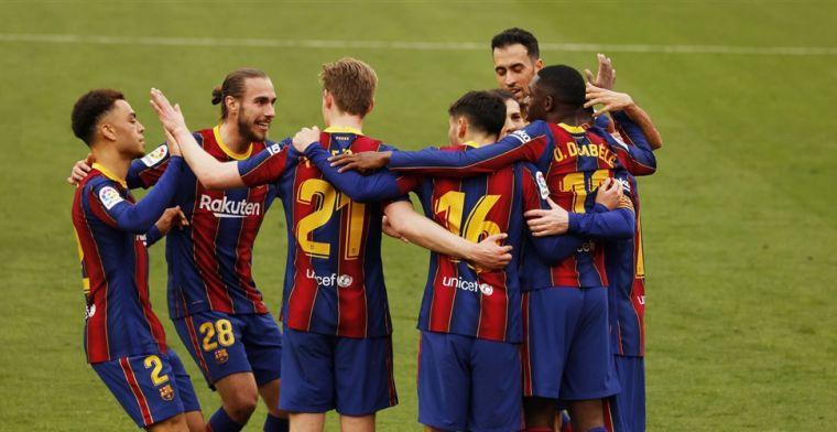 Koeman ziet Barça domineren: Dembélé en Messi leggen Sevilla over de knie