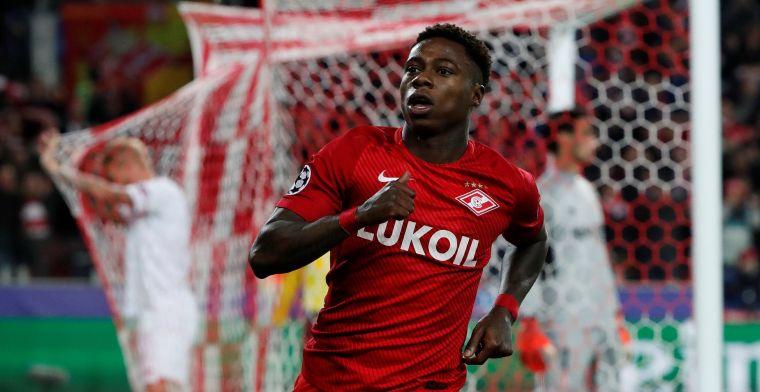 Teruggekeerde Promes doet ontdekking bij Spartak Moskou: 'Is hij een beest?'
