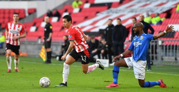Tegenvaller voor PSV in aanloop naar topper tegen Ajax: volgende blessuregeval