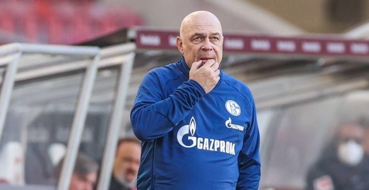 Schalke-trainer over 'spelersopstand met Huntelaar': 'Dan moeten ze naar mij toe'