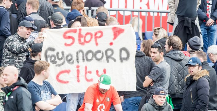 Feyenoord-supporters willen via Raad van State bouw Feyenoord City dwarsbomen