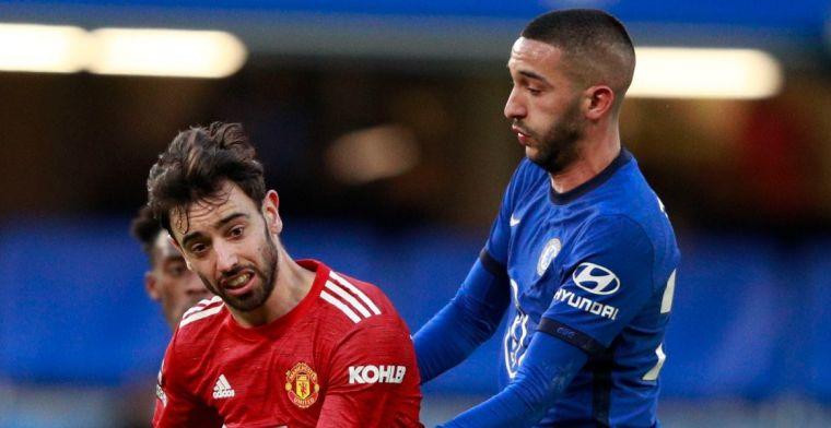 Chelsea en Manchester United houden elkaar op een brilscore