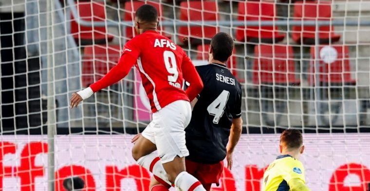 AZ wint slag om plek 3: Boadu maakt derde, vierde én vijfde tegen Feyenoord