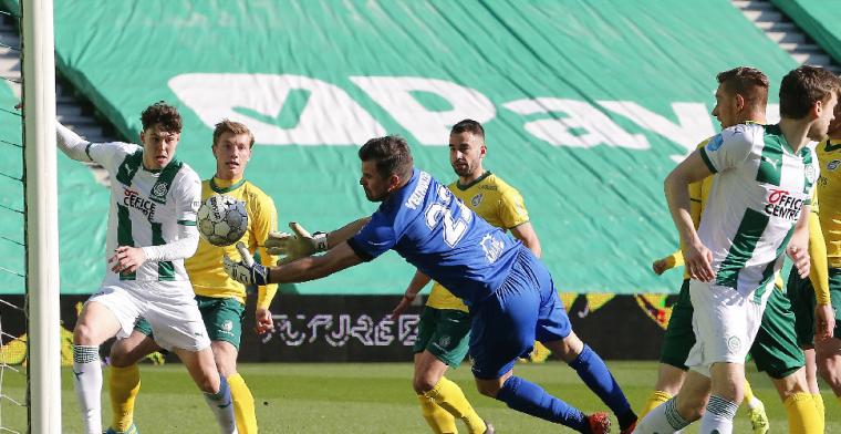 Velthuizen houdt het slechts twintig minuten vol bij rentree in Eredivisie