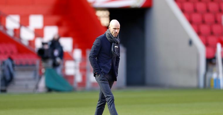 Ten Hag: 'Ik heb Tadic niet voor niets aanvoerder gemaakt bij Ajax'