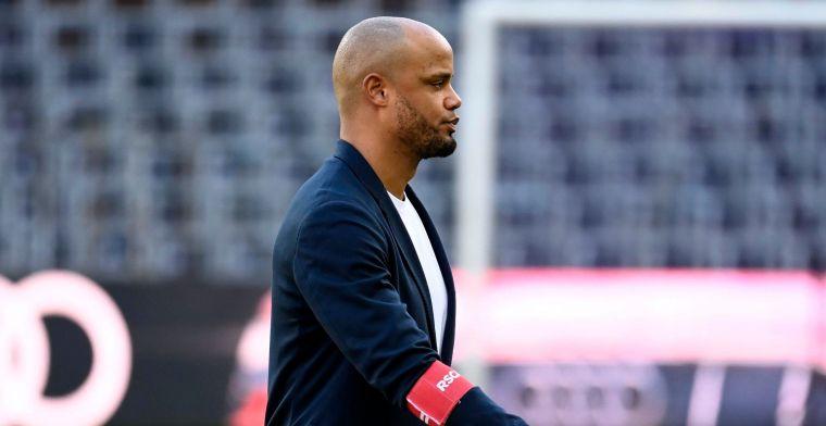 Kompany ziet vooruitgang bij Anderlecht: Steeds met het mes op de keel
