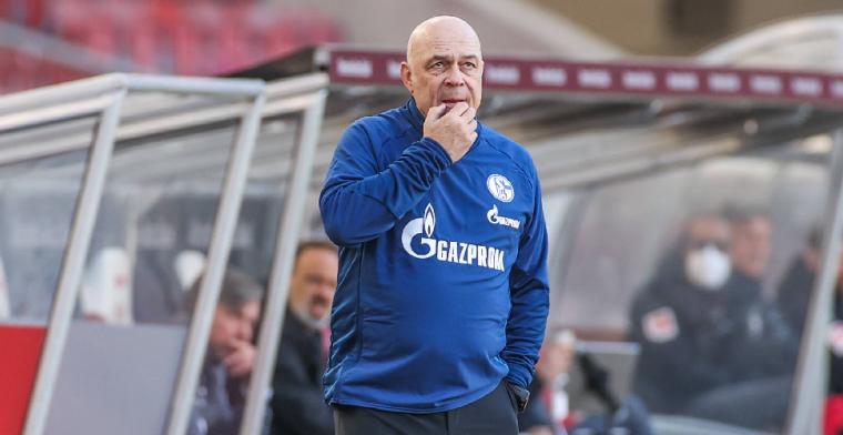 Ontslagen Schalke 04-trainer: 'Ik zou niet dezelfde spelers halen in de winter'