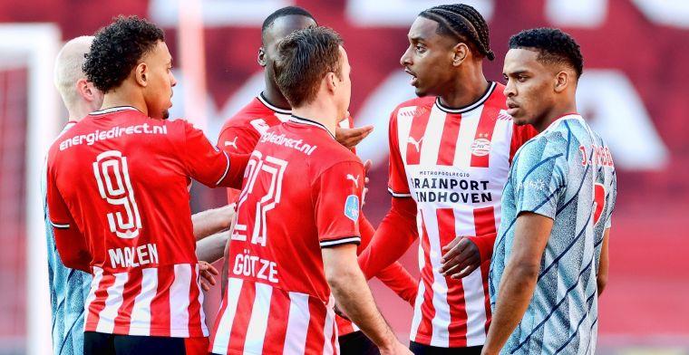 Woede-uitbarsting Tadic slotakkoord op chaotische topper tussen PSV en Ajax