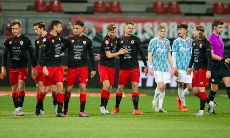 Afbeelding: NAC gaat meedoen om directe promotie, Jong Ajax krijgt een oorwassing