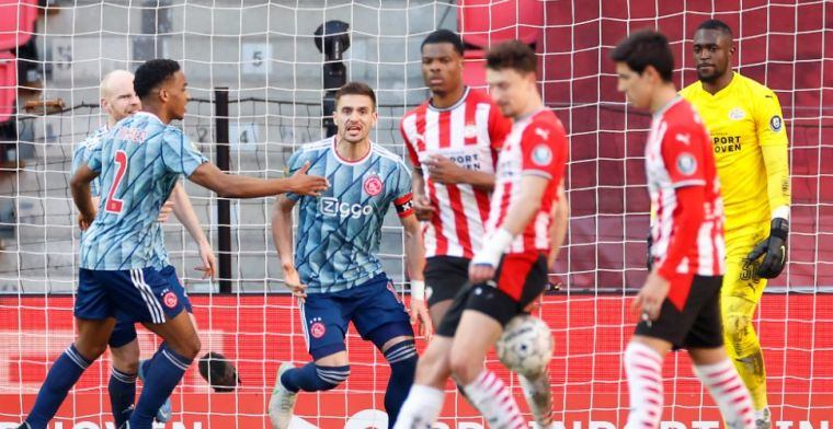 'PSV is genaaid door de VAR... Kom op nou, die Martínez, was dat geen rood?'