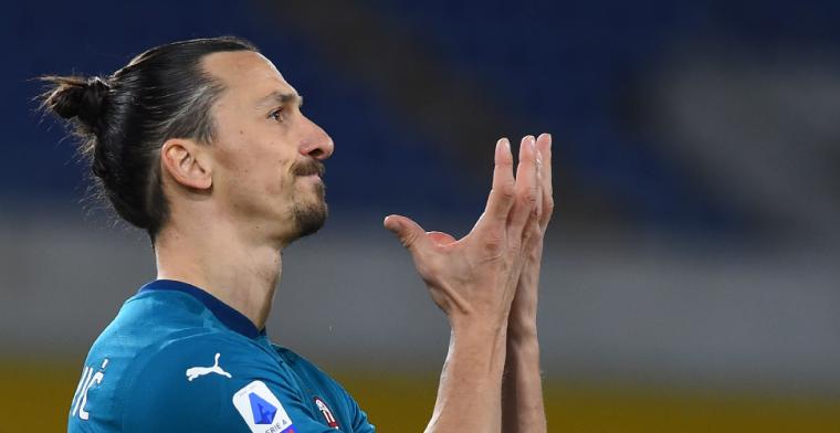 Klap voor AC Milan: Zlatan mist belangrijke wedstrijden tegen oude club