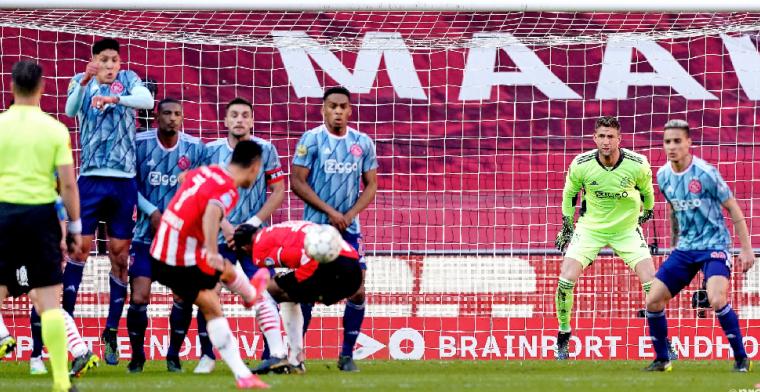 Van Hooijdonk kijkt naar rol Haller bij vrije trap Zahavi en tipt Ajax