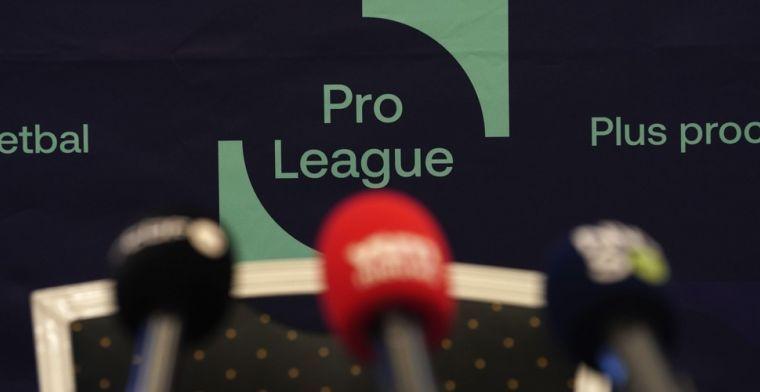 Pro League komt met statement: 'Laten we als supporters nog even doorzetten'