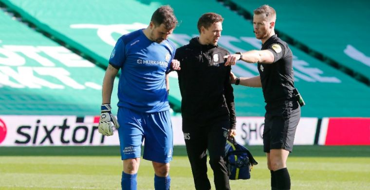 Schuldbewust na blessure Velthuizen: 'Daar ben ik verantwoordelijk voor'