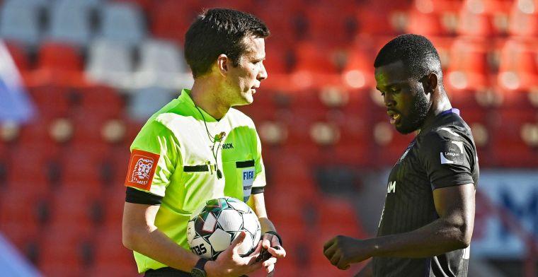 Referee Departement over Lawrence (Anderlecht): 'Geel voldoende'