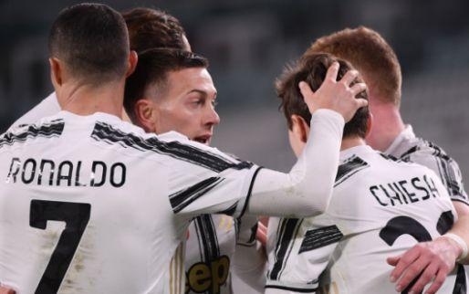 Afbeelding: Juventus overwint De Ligt-zorgen in warming-up: Zoet ziet teamgenoten onderuitgaan