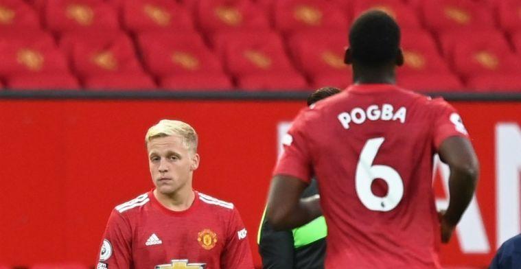 'Van de Beek moet vrezen voor speelkansen, Pogba keer terug bij Man United'