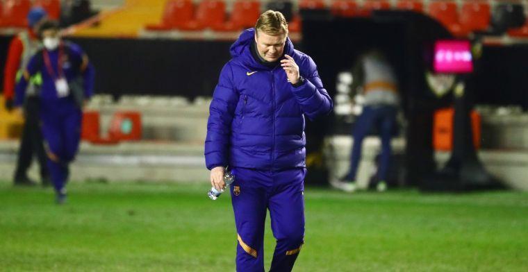 Koeman laat zich horen over positie als hoofdtrainer: 'Dan hebben we een probleem'