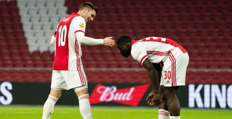 Tadic prijst 'heel goede speler' Ajax: Als hij invalt, doet hij het altijd goed