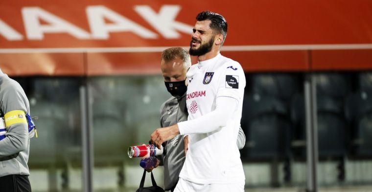 De comeback van Cobbaut, na maanden afwezigheid krijgt hij minuten bij Anderlecht