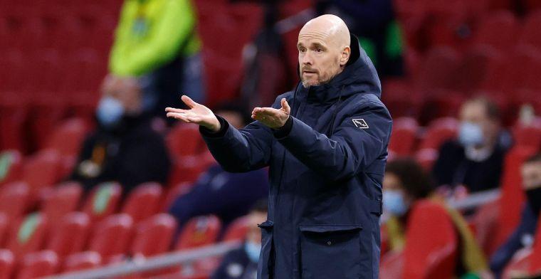 Ten Hag heeft niets dan lof voor Heerenveen - Ajax: 'Altijd zó van hem genoten'