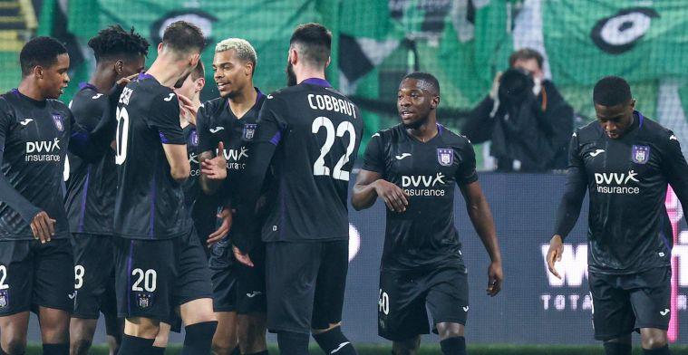 Anderlecht bibbert tot laatste minuut maar stoot toch door naar halve finales