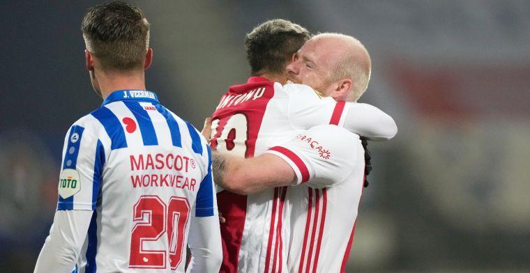 Ajax heeft geen kind aan Heerenveen en treft Vitesse in bekerfinale