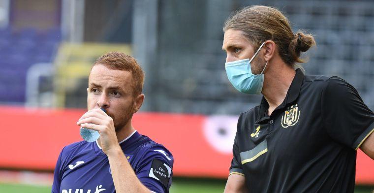 Frutos stelt Anderlecht-fans gerust: Wees geduldig geloof in het project