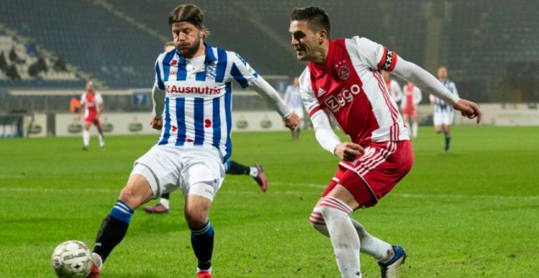 Schöne baalt: 'Weten waar we Ajax pijn kunnen doen, was vanavond niet zo'