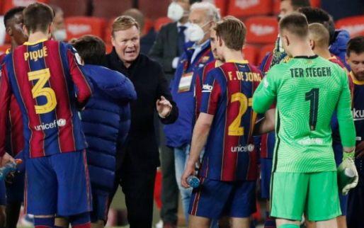 FC Barcelona wil verlengen met Koeman