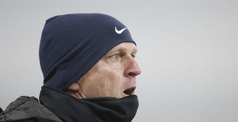"""Van den Brom: """"We zijn drie wedstrijden verwijderd van een Europees ticket"""""""
