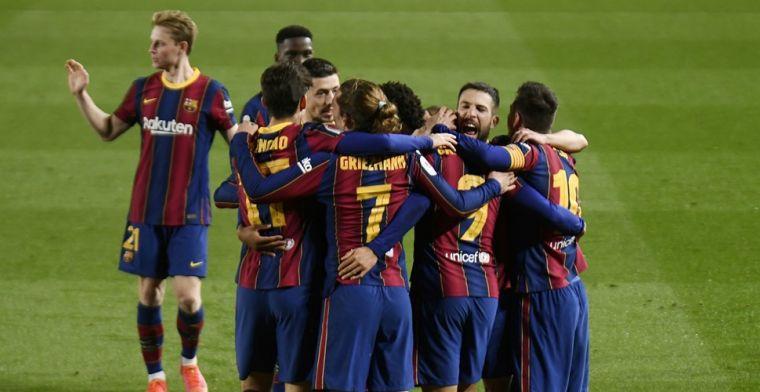 Barça haalt zijn gram en wijst Sevilla op Twitter terecht, ook Puyol sneert