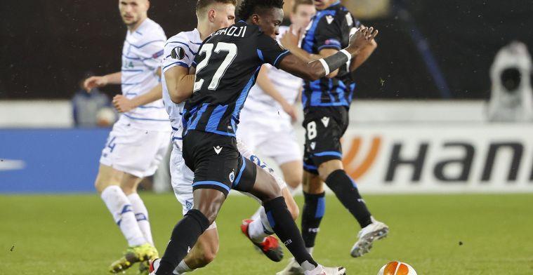 """Club Brugge-aanvaller Badji kijkt op naar Lukaku: """"Dan heb ik nog veel werk nodig"""""""