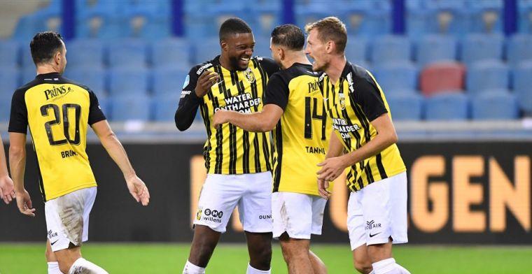 'Buitenlandse interesse in Bazoer: drie Franse topclubs volgen Vitesse-uitblinker'