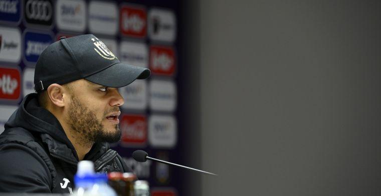 Kompany maakt zich op voor KV Mechelen: Dat verbaasde mij wel