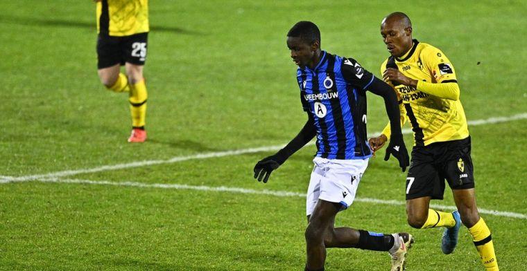 Club Brugge helemaal overtuigd: toptalent Mbamba (16) gepromoveerd naar A-kern