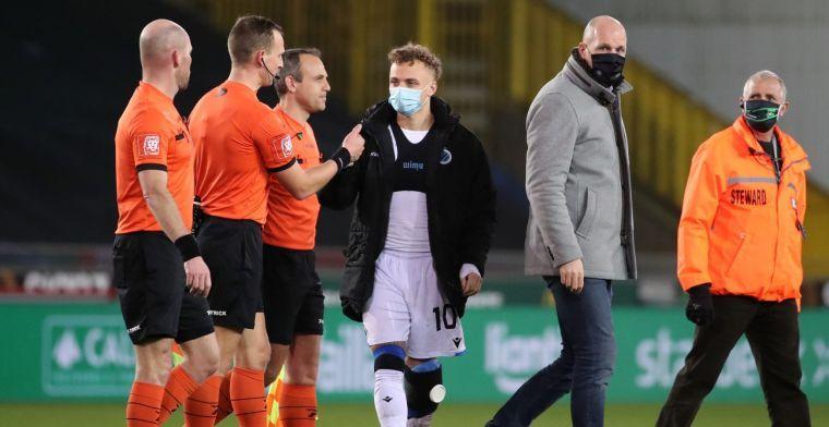 Club Brugge woest na bizarre bekeruitschakeling: ook Lang uit frustratie